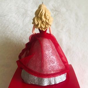 hollmark Holiday - Hallmark Holiday Barbie Tree Ornament
